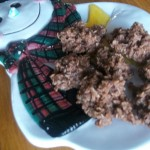 Chocolate No Bake Cookies from Life after Laundry