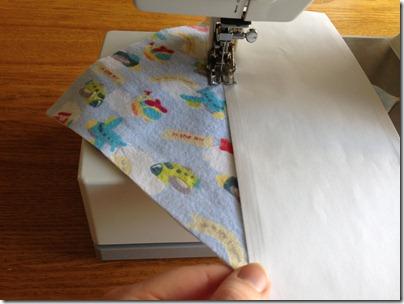 easier rag quilting