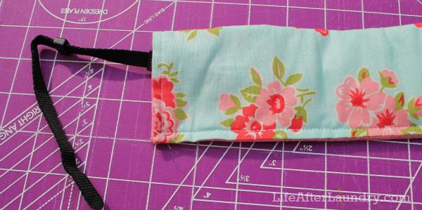 Camera Strap Cover Sewn