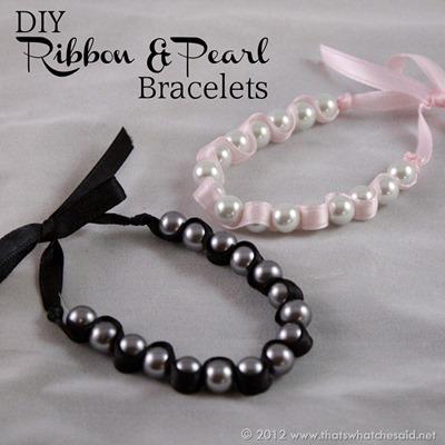 DIY-Ribbon-Pearl-Bracelets