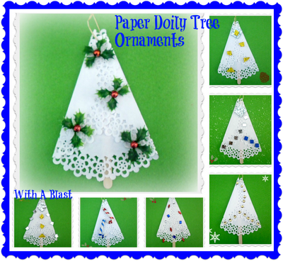 Paper Doily Tree Ornamentsmain
