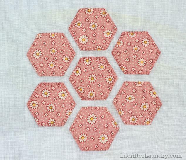 blanket stitch around applique shapes