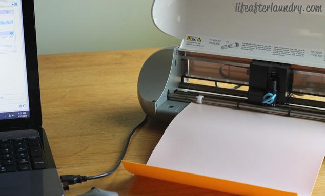 cutting heat transfer material