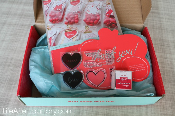 Filled With Love Paper Pumpkin Box