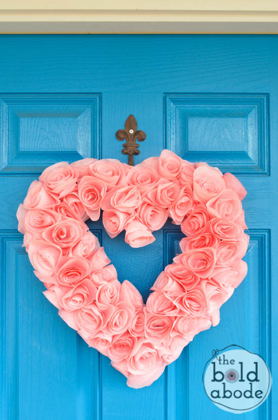heart-wreath