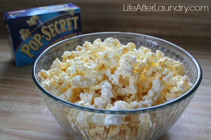 popcorn, fort, movie night