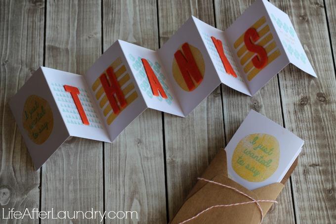 Layers of Gratitude Card via LifeAfterLaundry.com