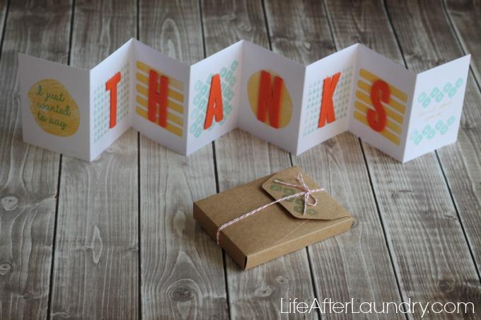 Layers of Gratitude Paper Pumpkin via LifeAfterLaundry.com