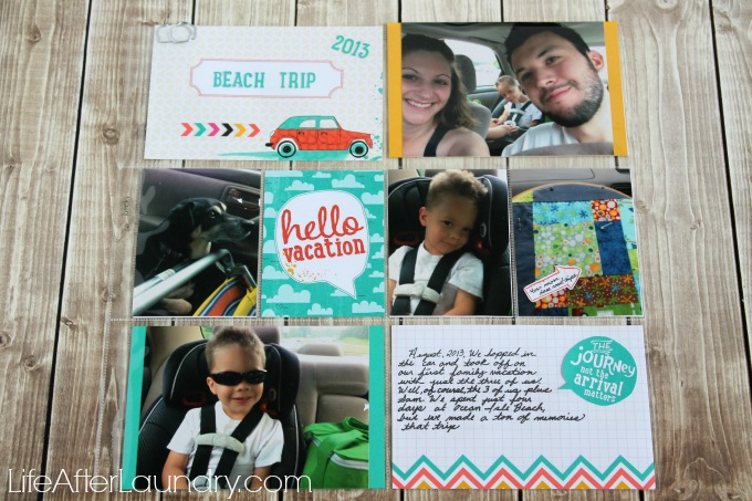 Saving Vacation Memories with the Let's Get Away Project Life Collection