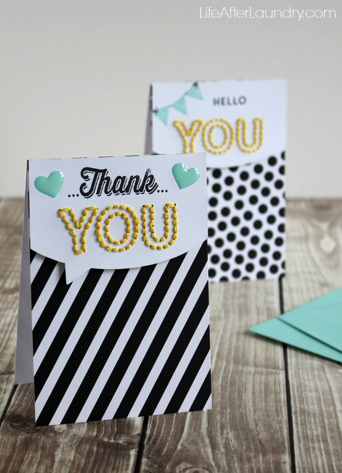 Sew you card from the Sew You Paper Pumpkin Box