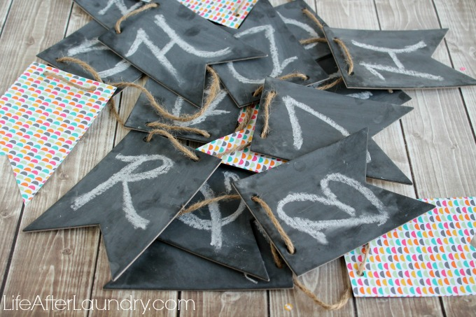 Simply Created Chalkboard Banner