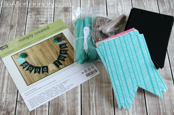 Simply Created Chalkboard Banner Supplies