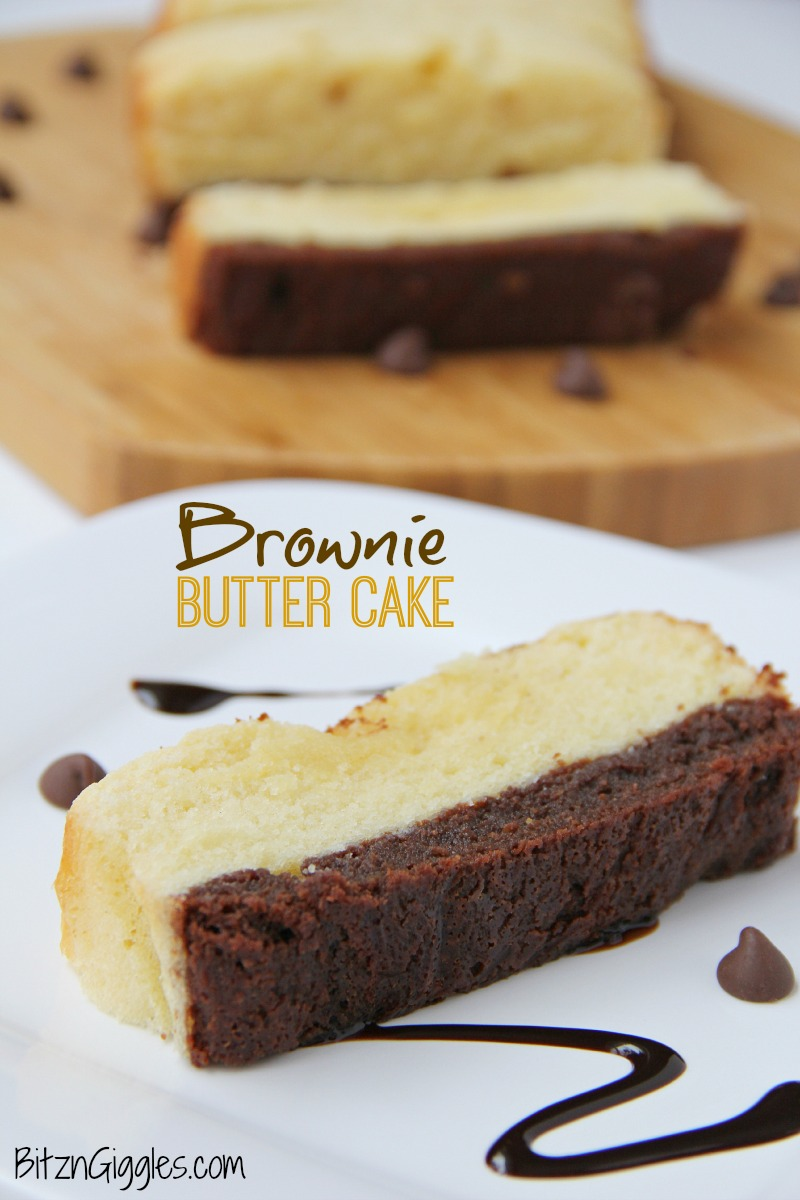 Brownie-Butter-Cake