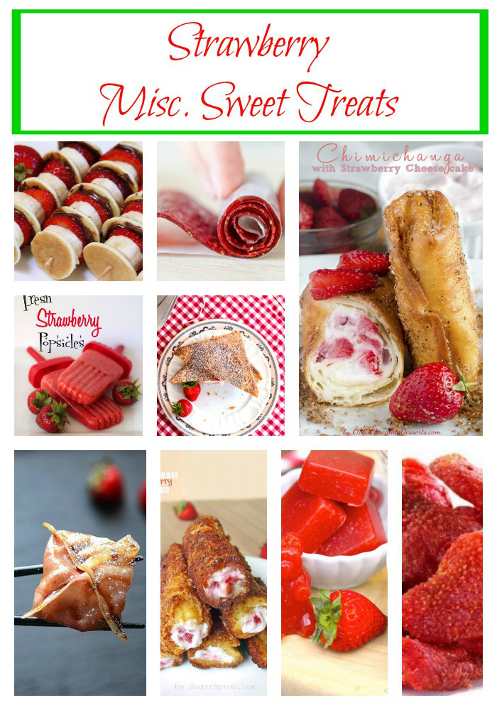 Strawberry-Misc-Sweet-Treats