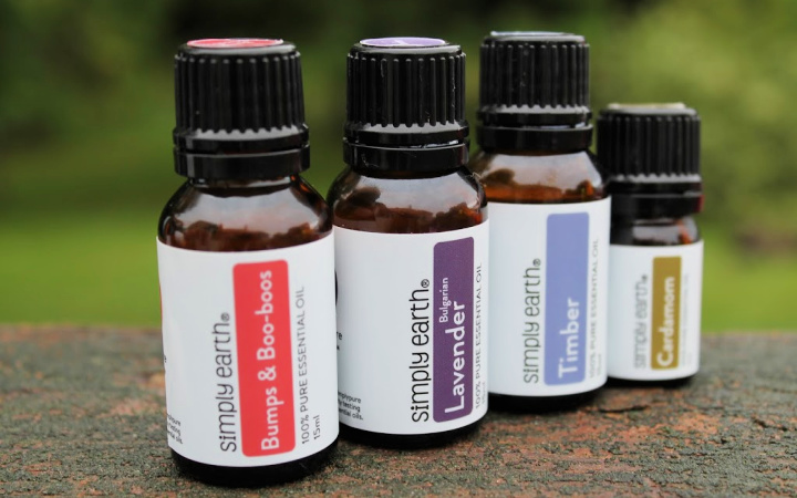 Simply Earth Oily Aid Essential Oils
