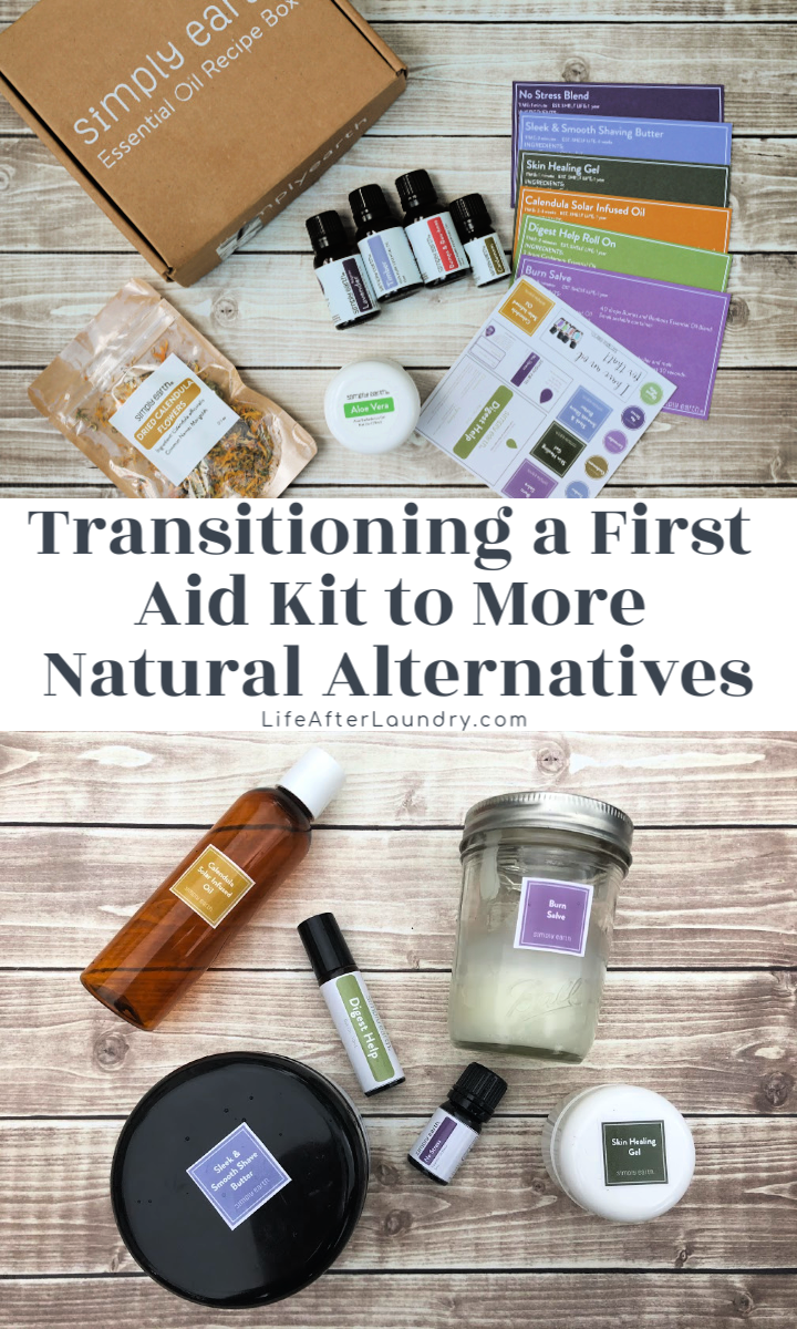 Transitioning a First Aid Kit to More Natural Alternatives is easy with these DIY recipes!